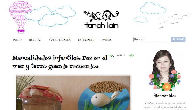 Adiós Tanah Lain, Hola El Rincón de Ana