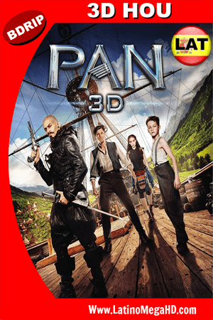 Pan: Viaje a Nunca Jamas (2015) Latino Full  3D HOU BDRIP 1080P ()