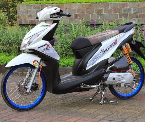 77 Modifikasi Honda Beat Foto Gambar Terbaru Modif Motor Terbaru