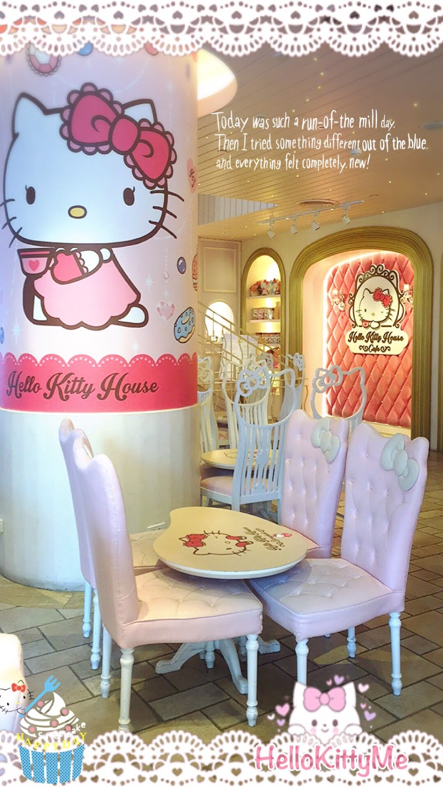 Treat Yourself To Yummy Confections And Sweets That Are Just Too Cutesy Eat Pamper Luxurious Hello Kitty Spa Services Shop