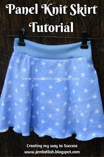 Panel Knit Skirt