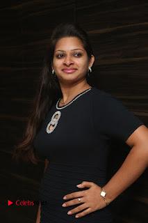 Actress Jyo Stills in Black Short Dress at Dwaraka Movie Audio Launch 0014