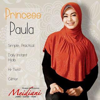 Jilbab Mewah Princess Paula