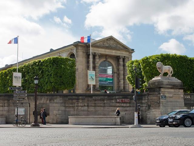 Entrada do Museu Jeu de Paume
