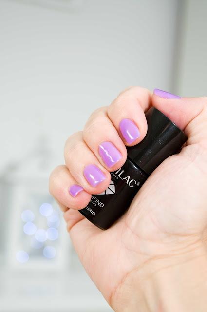 Semilac Bright Lavender nr 035 lakier hybrydowy