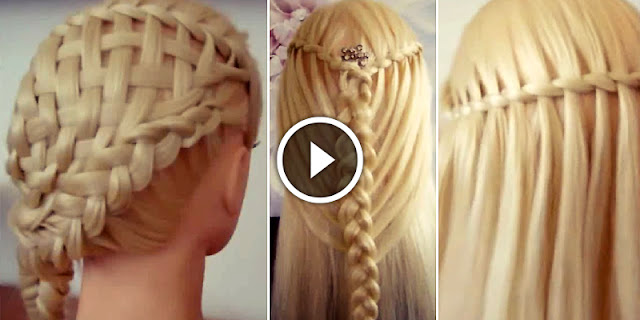 Learn, How To Make Three New Waterfall Hairstyles