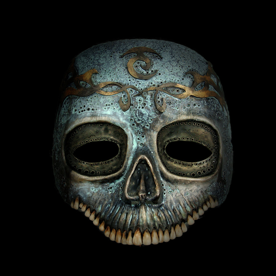 Shouting Into The Void: Magical Skull Mask