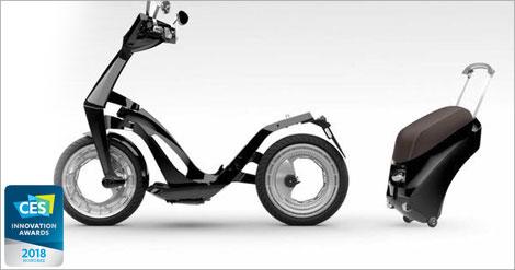 Ujet, Scooter Canggih Maha Karya Teknologi dan Design Zaman Now