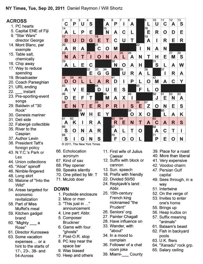 Pc hookup crossword puzzle clue
