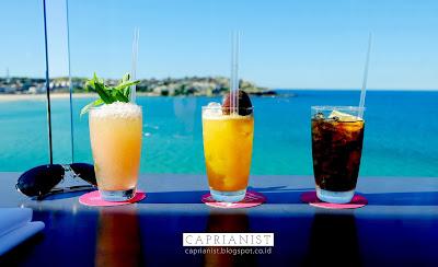 Mocktails by Bondi Icebergs