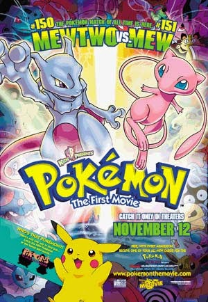 Watch Pokemon: The First Movie - Mewtwo Strikes Back (1998) Online For Free Full Movie English Stream