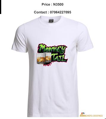 Monkey Tail Graffiti Shirt (White)