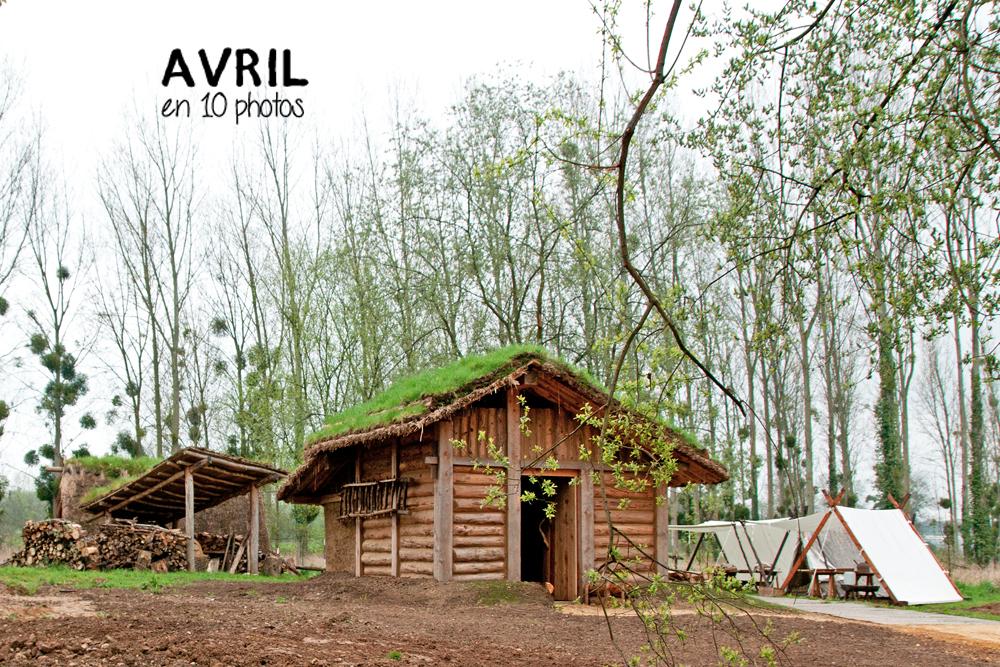 Vue de la reconstitution de la maison de Säby par l'association Ornavik à Hérouville Saint Clair