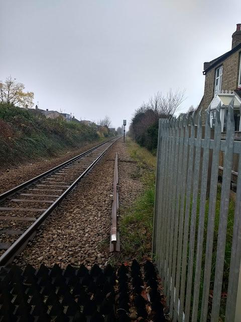 Railway, Cherry Hinton, Cambridge, High Street, Psychogeography