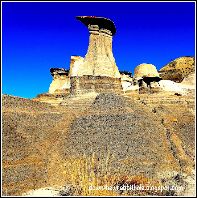 A giant hoodoo near Drumheller Alberta