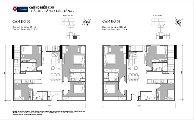 Thiết kế căn hộ 06-08 tòa R1