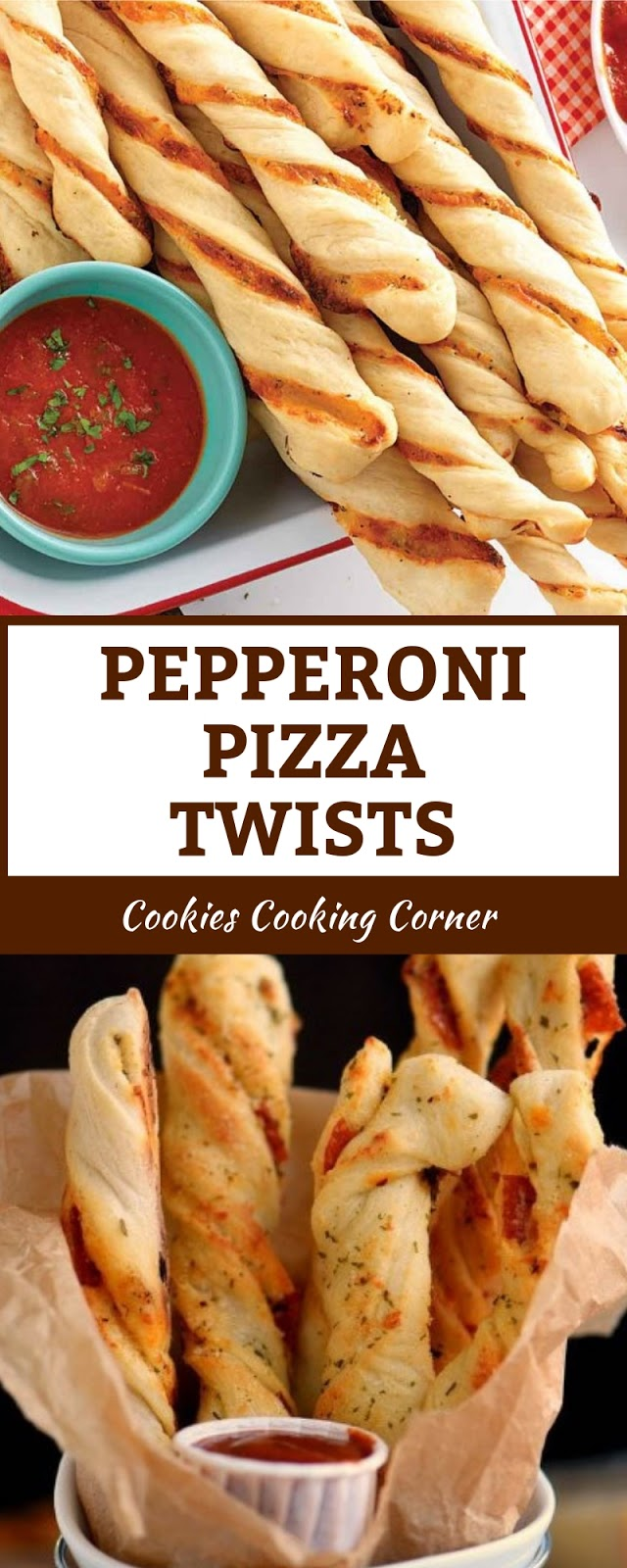 PEPPERONI PIZZA TWISTS
