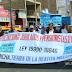 CUMPLIENDO ACUERDO DE ASAMBLEA GENERAL, PENSIONISTAS DE TERCERA EDAD REALIZARON MOVILIZACIÓN