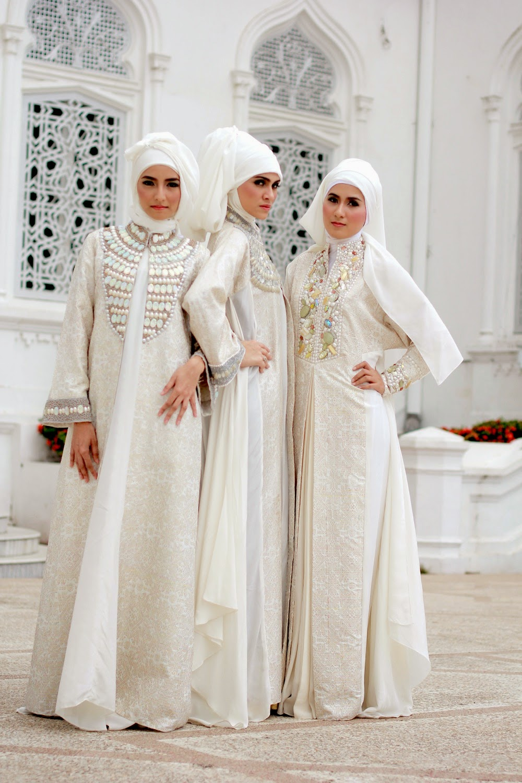 Pakain Gaun Muslim Wanita 2015