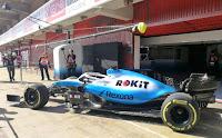 Williams racing f1 robert kubica testy barcelona