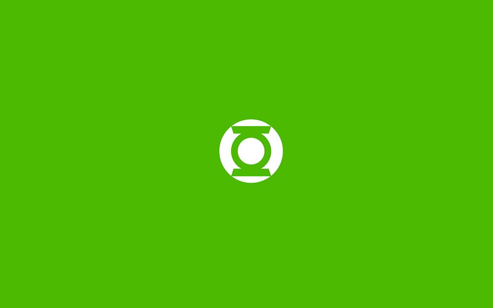Green Lantern Comics Logo Minimal HD Wallpapers HQ