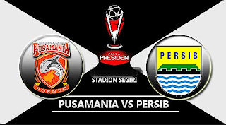 Susunan Pemain Pusamania Borneo FC vs Persib Bandung