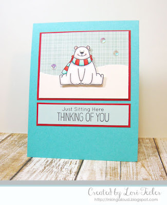 Just Sitting Here card-designed by Lori Tecler/Inking Aloud-stamps from My Favorite Things