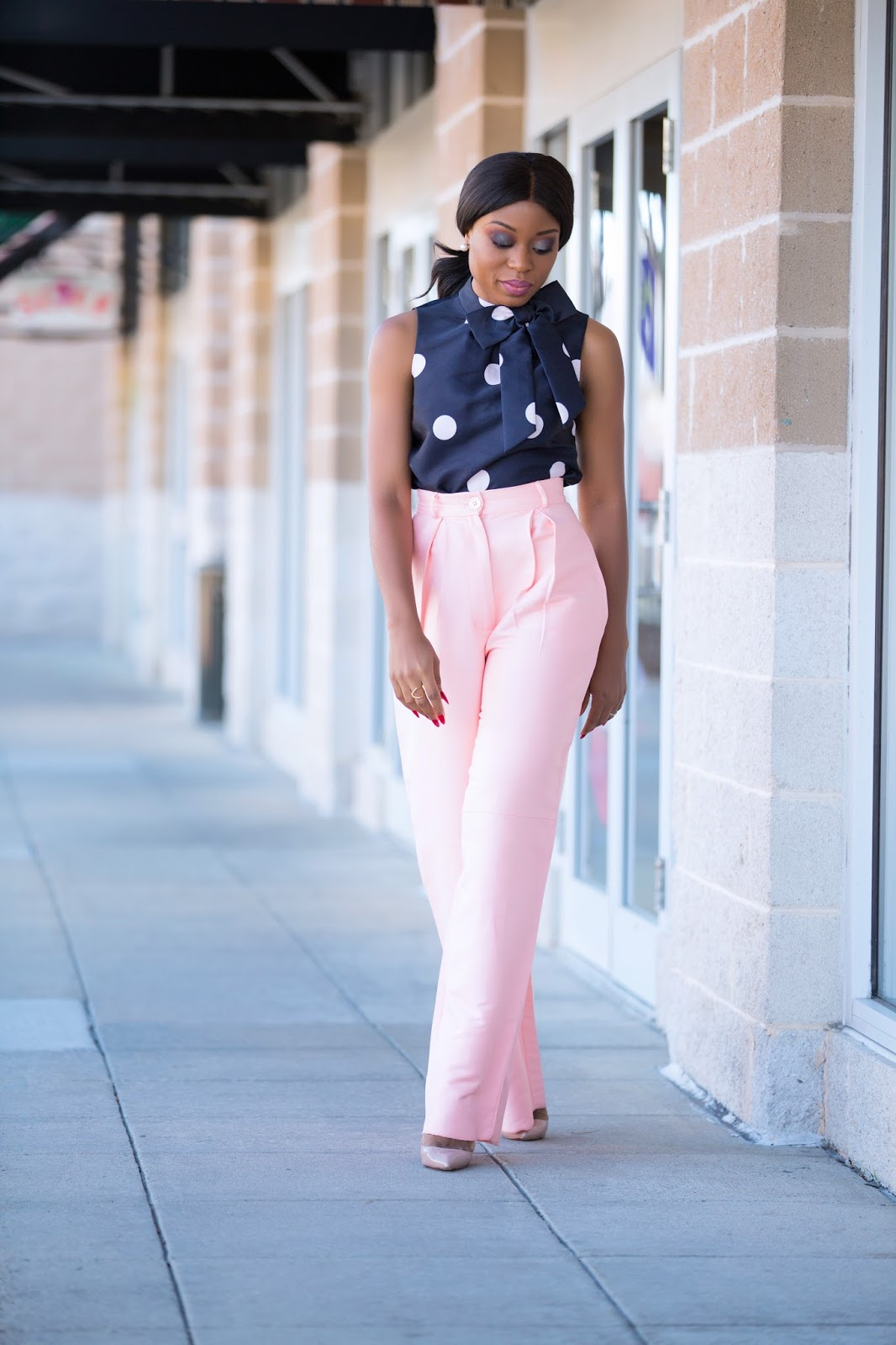bow and polka dot, www.jadore-fashion.com