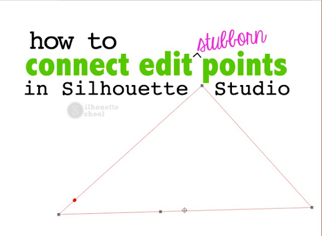 silhouette studio tutorials for beginners edit points silhouette cameo