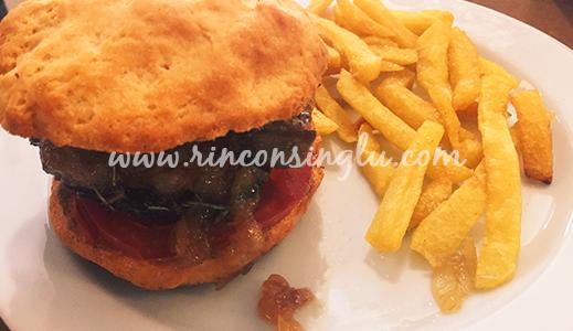 hamburguesa sin gluten en Obrador 0% Gluten