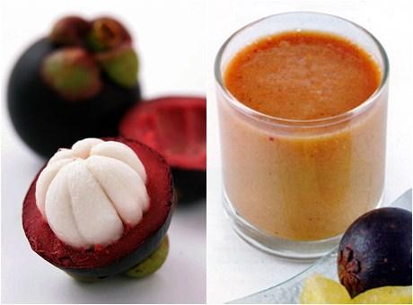 Jus buah manggis untuk menurunkan demam