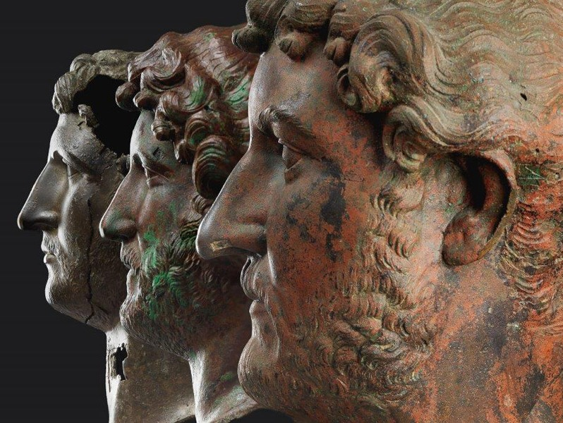 'Hadrian: An Emperor Cast in Bronze' at the Israel Museum of Archaeology