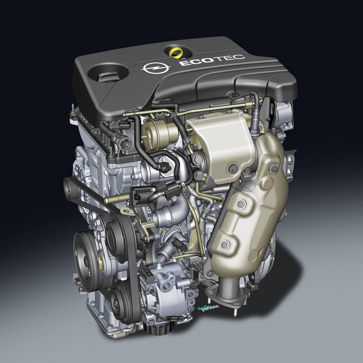Motor 1.0 de três cilindros Opel que equipará Peugeot e Citroen no Brasil