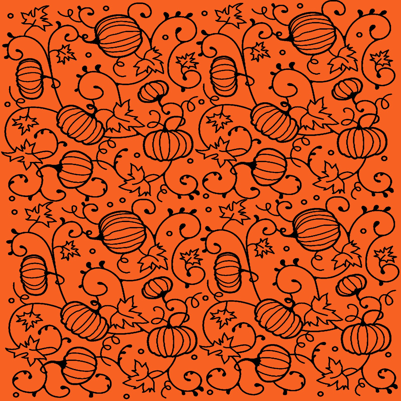Free Halloween Digital Scrapbook Paper