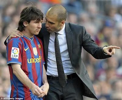 'Pep Guardiola banned Lionel Messi from having sex after midnight' - Man City footballer Samir Nasri reveals