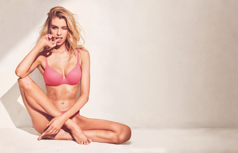 Stella Maxwell stars in Victoria's Secret Incredible Bra campaign