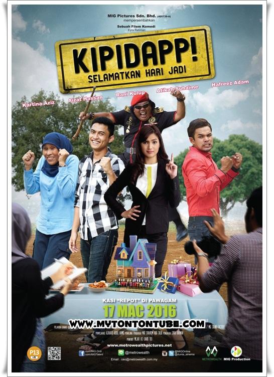 Filem Kipidapp! Selamatkan Hari Jadi (2016) - Full Movie