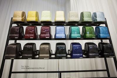 Paleta kolorów, którą posługiwali się projektanci nowego FH