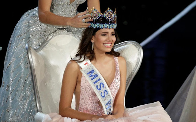 The newly crowned Miss World 2016, Stephanie Del Valle from Puerto Rico!