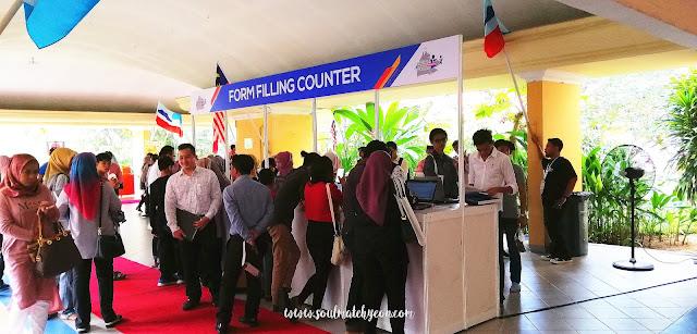 Sabah Job & Entrepreneur Fair 2018 @ Kompleks Sukan Kota Kinabalu (Likas)