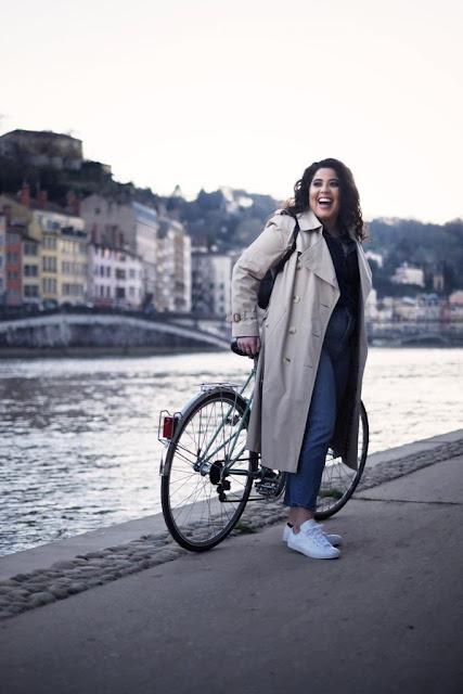 Blog mode lyon vintage vélo burberry grande taille jean