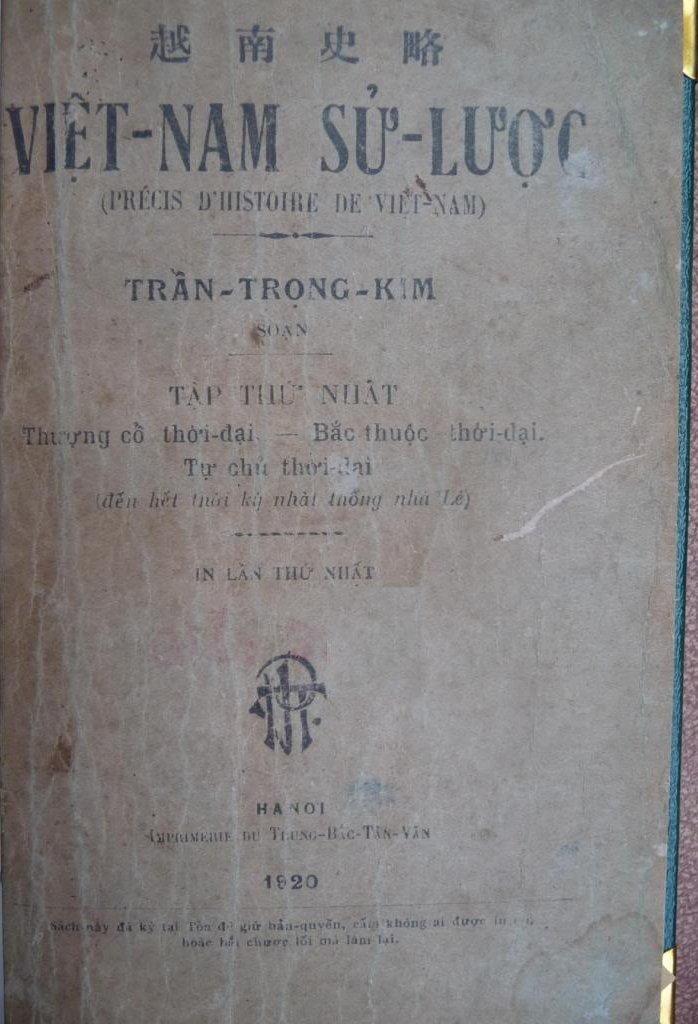 Sách Online: Việt Nam Sử Lược