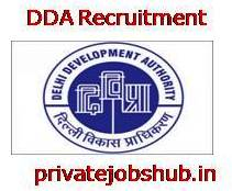 DDA Recruitment