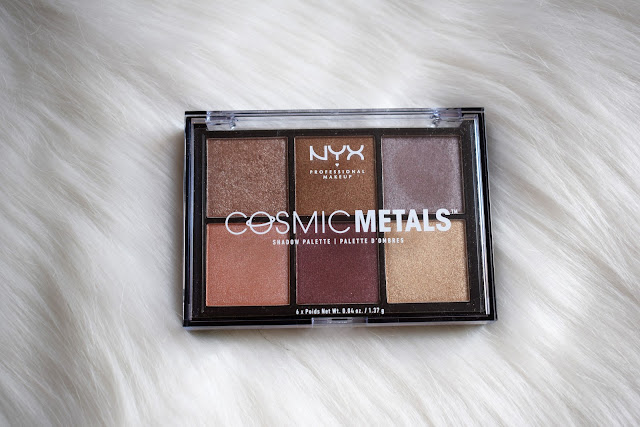NYX Cosmic Metals shadow palette (CMSP01)