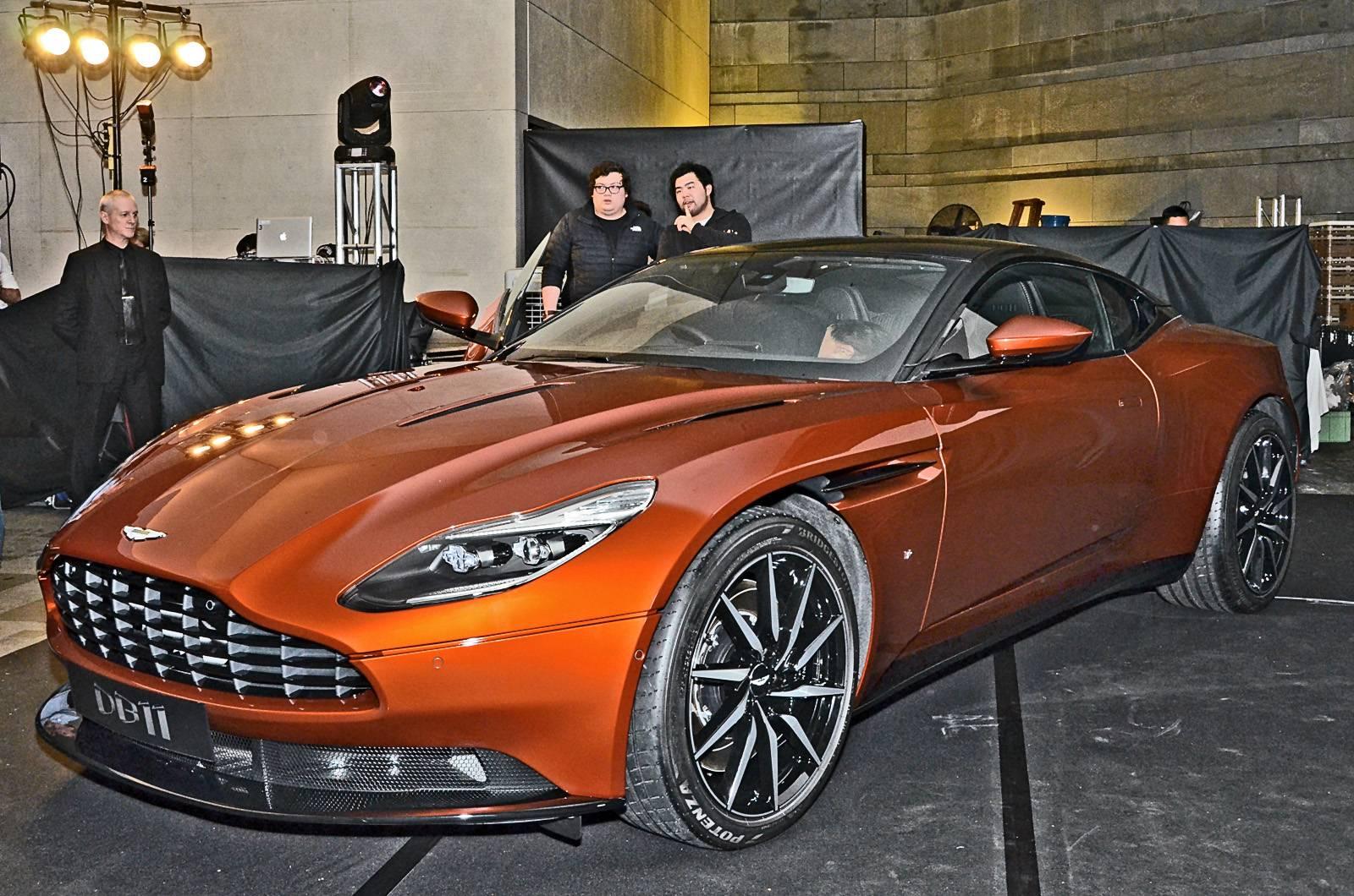 Aston Martin DB11 chắc chắn sẽ thu hút rất nhiều sự chú ý tại Hồng Kông thời gian tới