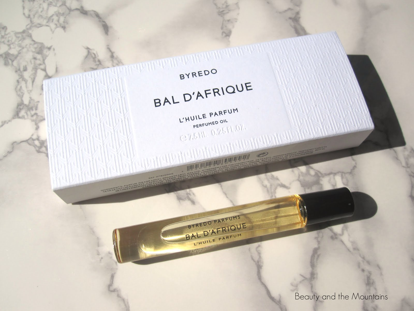9a528c0088c3 Beauty and the Mountains  BYREDO Perfumed Oil - Bal D Afrique