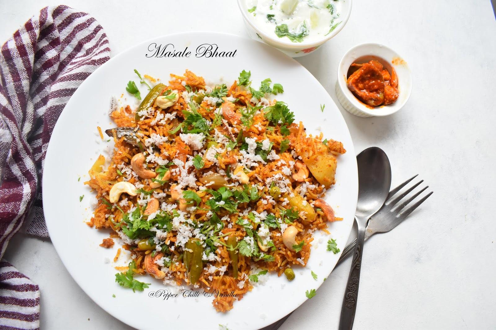 maharastrian masale bhaat recipe