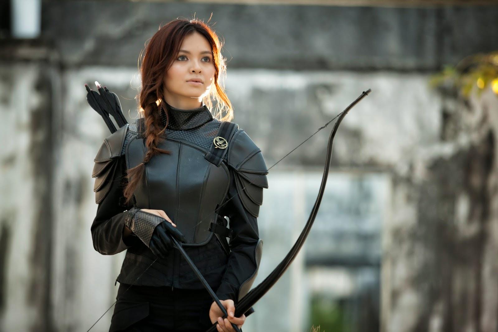 The Hunger Games Mockingjay Katniss Everdeen Makeup