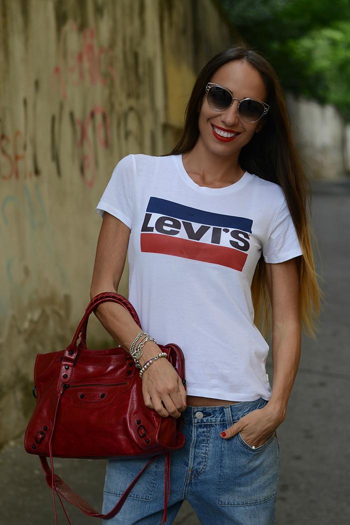 maglietta Levis vintage