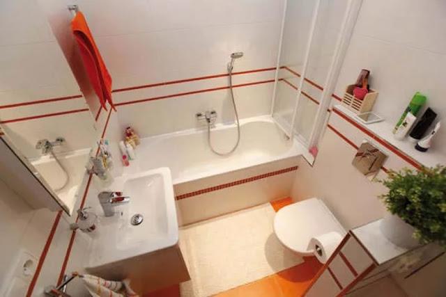 Phòng tắm nhỏ- mẫu 3